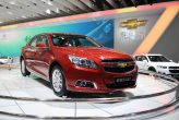 Malibu 1.6T passenger car makes global debut at Auto China 2012