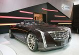 Cadillac is showcasing the Ciel Convertible concept at Auto China 2012 and previews the future design direction of GM's luxury brand