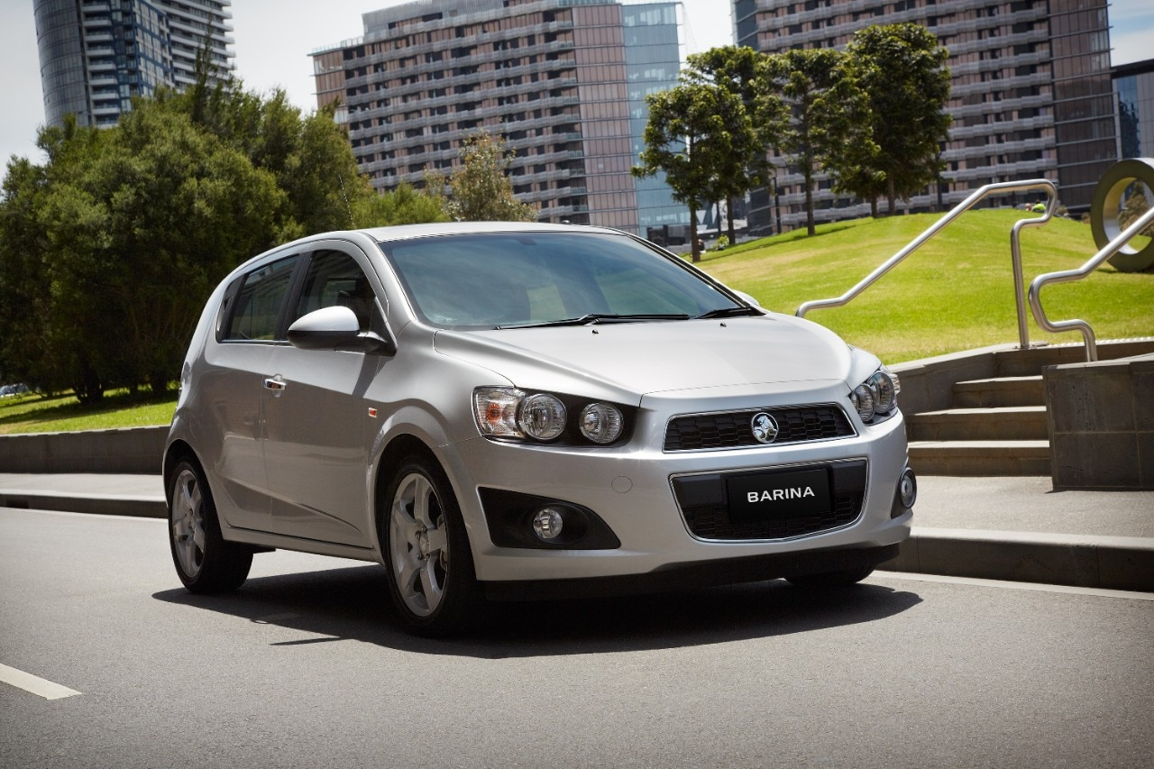 2013 Holden Barina Auto Offers Improved Fuel Economy