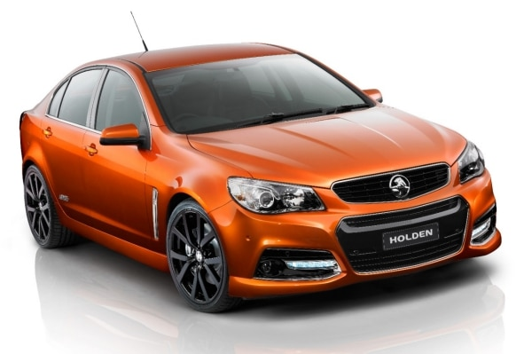 Holden Signals VF Commodore Performance Intent with Striking New