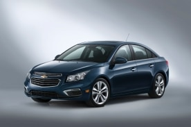 Styling, OnStar 4G LTE, Siri Updates for 2015 Chevy Cruze