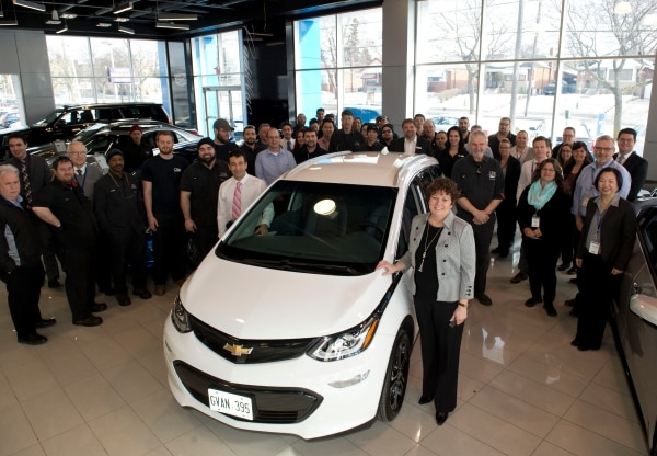 Chevrolet Delivers First Bolt Evs To Canadian Customers