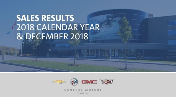 Gm Canada Is 1 For Retail Sales In Canada For 2018 Again