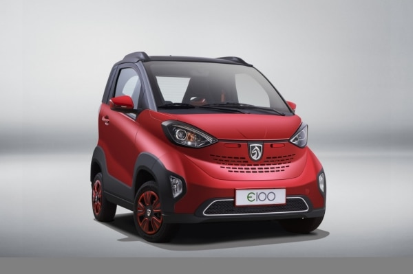 SAIC-GM-Wuling Launches New Baojun E100 Electric Vehicle