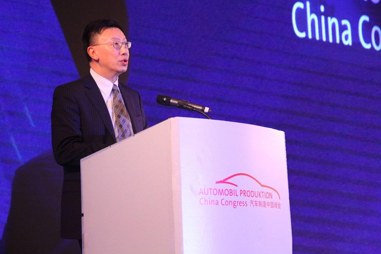 通用汽车中国公司总裁钱惠康探讨未来交通解决方案