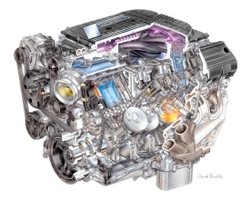 "2015 ""LT4"" 6.2L V-8 AFM VVT DI SC (LT4) for Chevrolet Corvette Z"