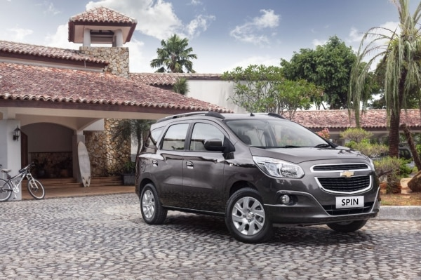 Chevrolet Spin Created And Sold In Indonesia