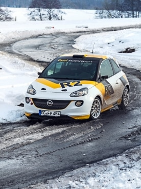 Opel ADAM R2 Rallye car