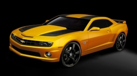 2012 Chevrolet Camaro Transformers Special Edition