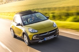 Opel ADAM ROCKS, Color Gold Busters