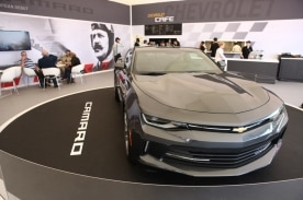 Surprise! Chevrolet Delivers 2016 Chevrolet Camaro to Goodwood Festival of Speed