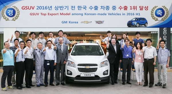 Chevrolet Number One In Sales Service Category Of Korean Service