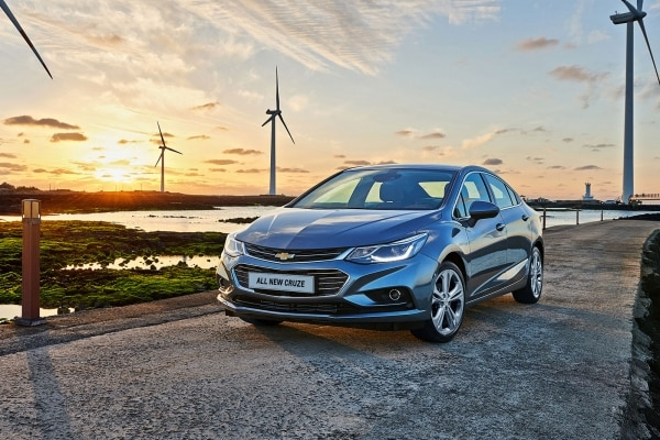 Uncompromised Chevrolet Introduces All New Cruze