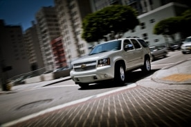 The Chevrolet Tahoe proved to be a leading choice of customers in March