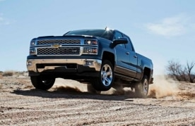 Sales of the 2014 Chevrolet Silverado helped boost growth in the UAE in Q1