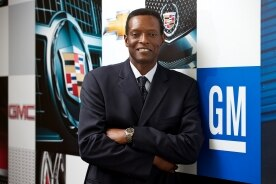Maurice Williams, President and Managing Director of GM Middle East