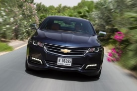 The Chevrolet Impala has helped to drive GM's 10% growth in the GCC