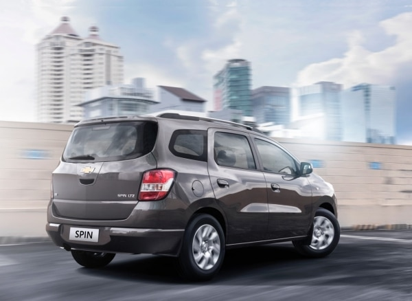 All New Chevrolet Spin