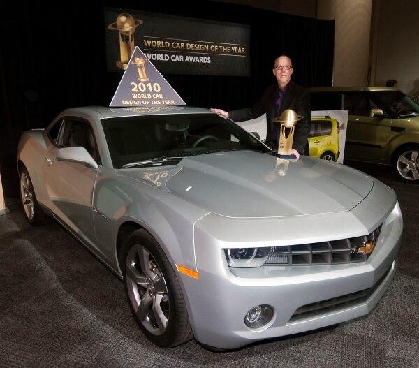 2010 Chevrolet Camaro Wins World Car Design Of The Year