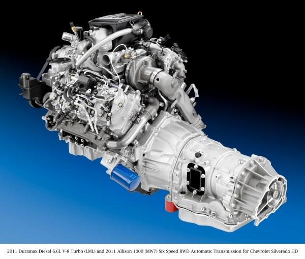 Enhanced Allison 1000 Transmission Helps New Chevrolet Silverado