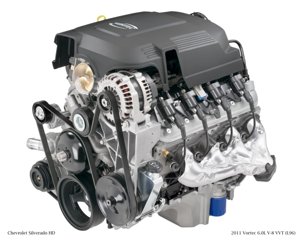 Vortec 6 0L V-8 And 6L90 Six-Speed Combination Delivers