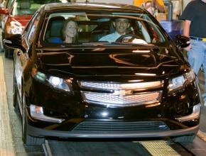 President Obama and the Chevrolet Volt