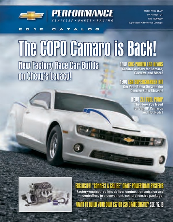 Chevrolet Performance Releases 2012 Catalog