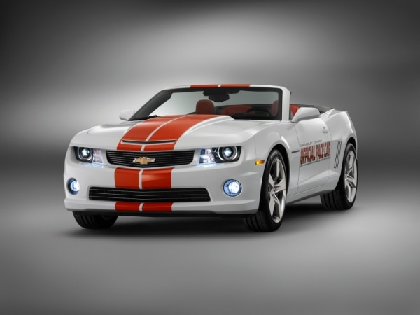 2011 Indianapolis 500 Pace Car Replicas To Be Offered To Customers