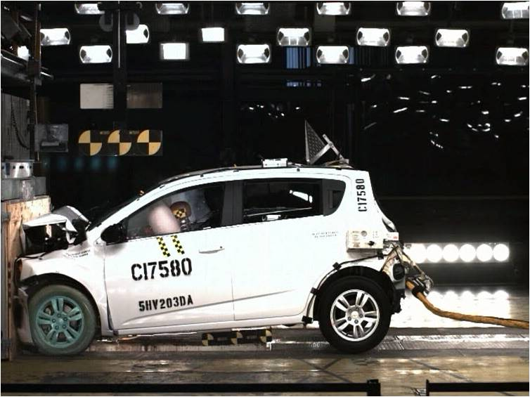 2012 Chevrolet Sonic Models Get Top Safety
