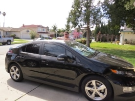 Chevrolet Volt owner Paul Friday