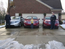 Chevrolet Volt owner Brent Waldrep