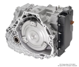 2012 Hydra-Matic 6T70 (MH2) Six Speed FWD Automatic Transaxle