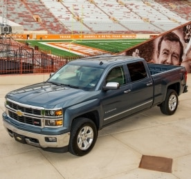 Chevrolet Silverado Signs with University of Texas Longhorns