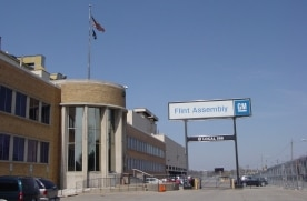 Front of Flint Assembly Building