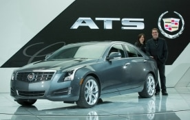 The Cadillac ATS wins the North American Car of the Year Award