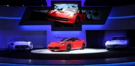 2014 Chevrolet Corvette Stingray Debuts At NAIAS