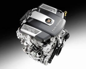 2014 3.6L V-6 VVT DI Twin Turbo (LF3) for Cadillac CTS