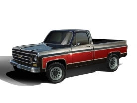 1978 Chevrolet Performance Classic Truck Concept
