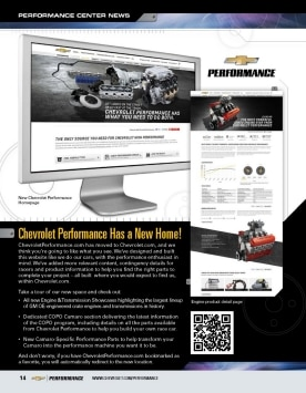 Cheverolet Performance Parts Home Page