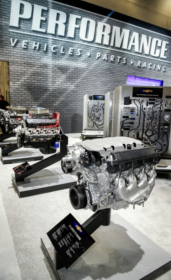 460-HP Gen 5 LT1 Crate Engine Concept Bows at SEMA