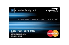 The new GM Card from Capital One