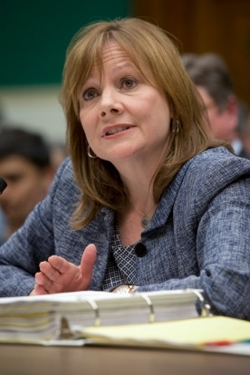 GM CEO Barra Testifies Before House Subcommittee