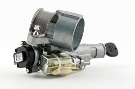 An ignition and switch assembly that includes an ignition cylind