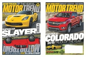 The 2015 Chevrolet Colorado, Motor Trend's 2015 Truck of the Year