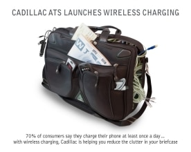Cadillac ATS Launches Wireless Charging