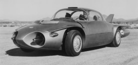 The 1956 Firebird II concept car