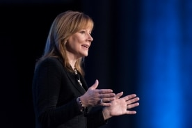 Mary Barra Addresses ITS World Congress