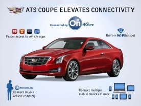 ATS Coupe Elevates Connectivity