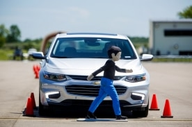 GM Develops Smarter and Safer Driving at All-New Active Safety Test Area