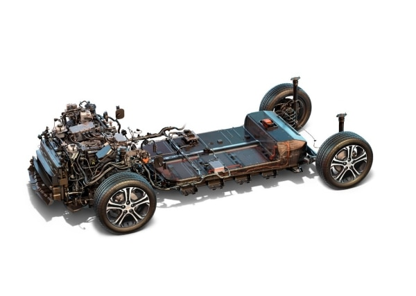 drive unit and battery at the heart of chevrolet bolt ev